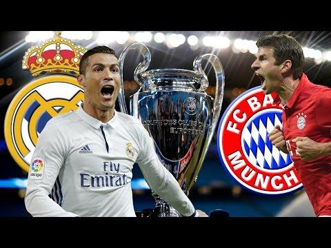 REAL MADRID vs FC BAYERN MÜNCHEN Champions League Viertelfinale Rückspiel