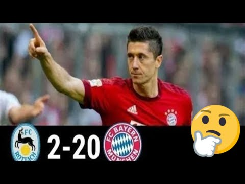 FC Rottach-Egern 2 vs 20 FC Bayern | All 22 Goals and Highlights