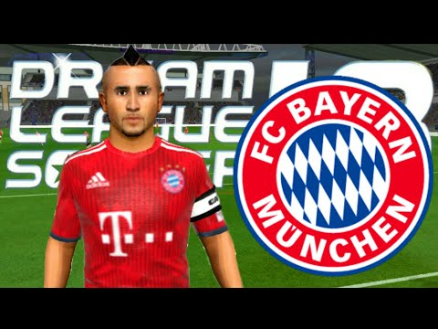 Create FC Bayern Munich Team ☆ Kit Logo & Players ☆ Dream League