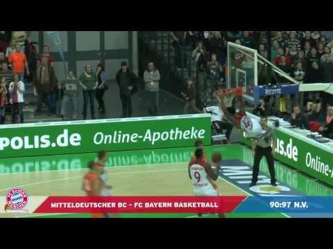 18. Spieltag: MBC – FC Bayern Basketball (90:97 n.V.)