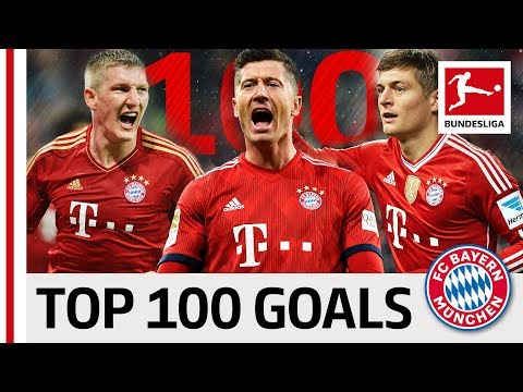 Top 100 Best Goals FC Bayern München – Vote for Lewandowski, Kroos, Müller & Co.