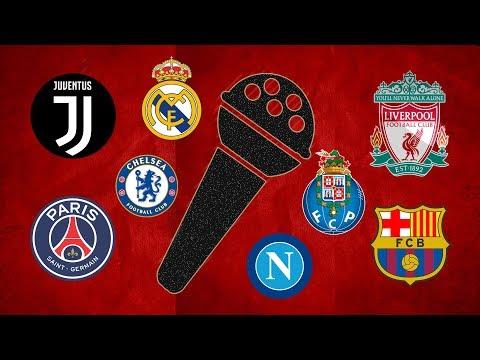 Goal Songs and Soccer Teams | Bayern, Real Madrid, Roma
