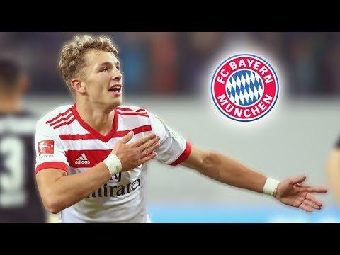 Jann-Fiete Arp • Welcome to Bayern Munich • Goals & Skills