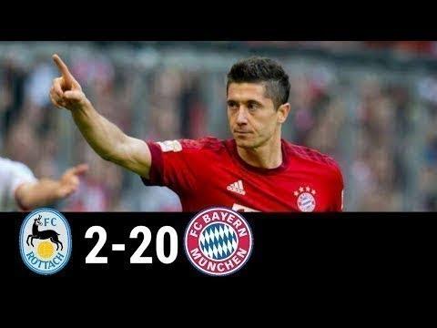 Rottach Egern vs Bayern Munich 2- 20 todos los goles 08/09/2018 HD