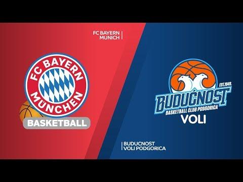 FC Bayern Munich – Buducnost VOLI Podgorica Highlights | Turkish Airlines EuroLeague RS Round 15