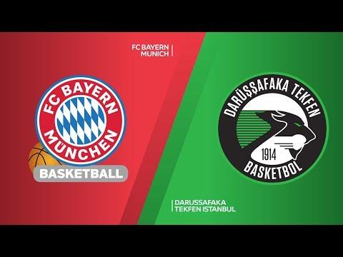 FC Bayern Munich – Darussafaka Tekfen Istanbul Highlights | Turkish Airlines EuroLeague RS Round 6