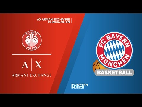 AX Armani Exchange Olimpia Milan – FC Bayern Munich Highlights | EuroLeague RS Round 13