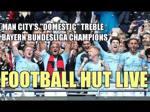 "Man City's ""Domestic"" Treble, Bayern Bundesliga Champions, The End of Robben & Ribery at Bayern"
