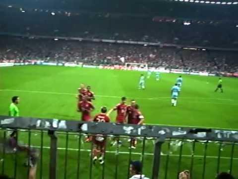 FC Bayern München vs Manchester City 2-0