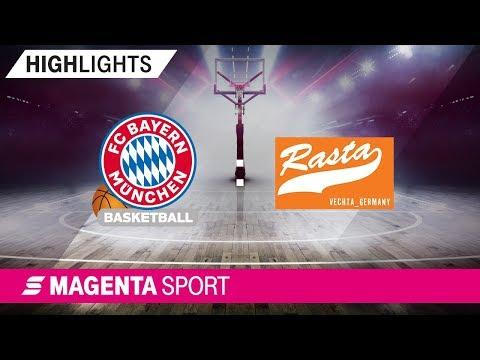 FC Bayern Basketball – Rasta Vechta | Halbfinale, Spiel 1 | MAGENTA SPORT