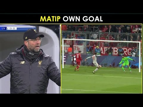 Football Reacts: Joel Matip Scores Own Goal | Bayern Munich Vs Liverpool