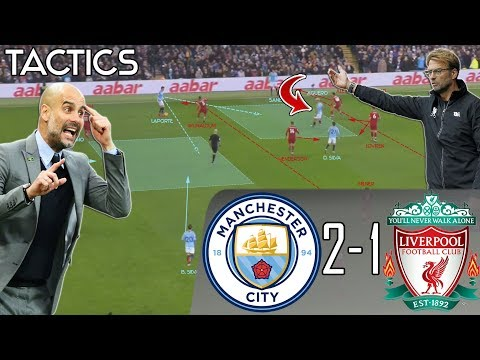 How Pep's Ingenious Tactics Ended Liverpool's Unbeaten Run: Man City vs Liverpool Tactical Analysis