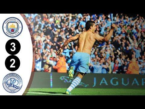 Manchester City City vs QPR Premier League 3-2 2011/2012 Full Highlights HD