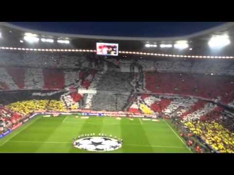 FC Bayern München -Real Madrid choreo