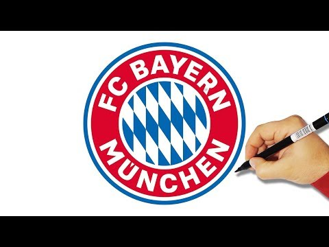 How to Draw the FC Bayern Munich Logo – HowToForKids