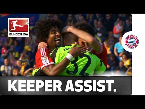 Super Assist from Bayern's Keeper Raeder