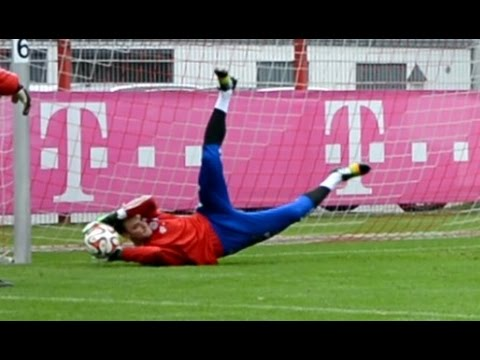 Manuel Neuer – Goalkeeper Training FC Bayern Munich – Part 2