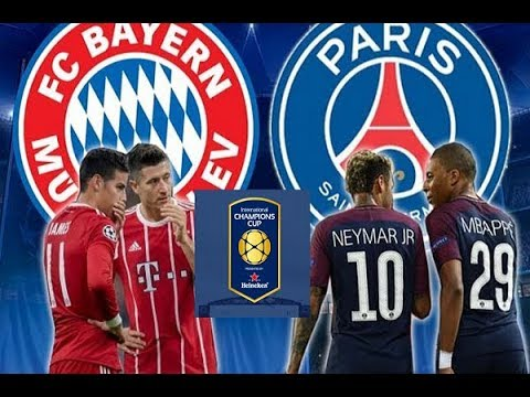 Bayern Munich vs  PSG ICC 2018