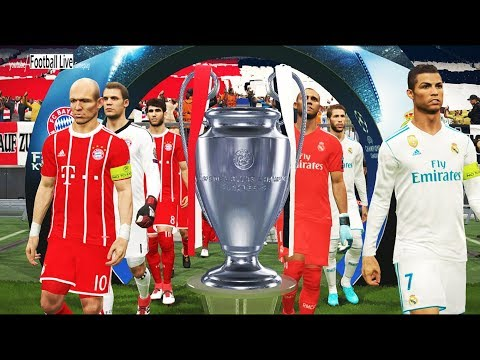 PES 2018 | UEFA Champions League Final | Real Madrid vs Bayern Munich | Gameplay PC