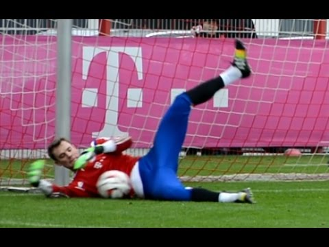 Manuel Neuer – Goalkeeper training FC Bayern Munich – part 6