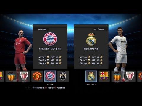 Demo 2 PES 2013 Bayern Munchen Real Madrid