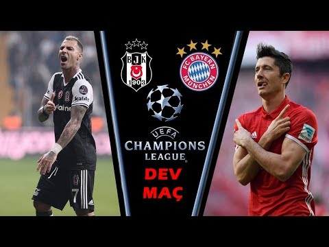 Bayern Munchen vs Beşiktaş CL en iyi Goller (SON 24 SAAT)