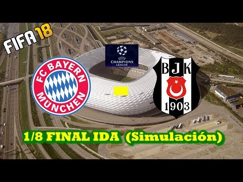 DIRECTO FIFA18 CHAMPIONS LEAGUE  | FC BAYERN – BESIKTAS