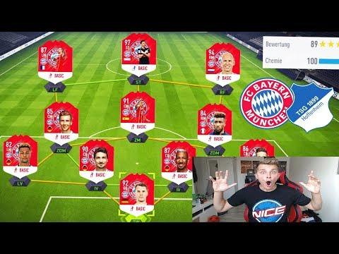 Wer wird BUNDESLIGA Meister? BAYERN vs. HOFFENHEIM Fut Draft Challenge! – Fifa 18 Ultimate Team