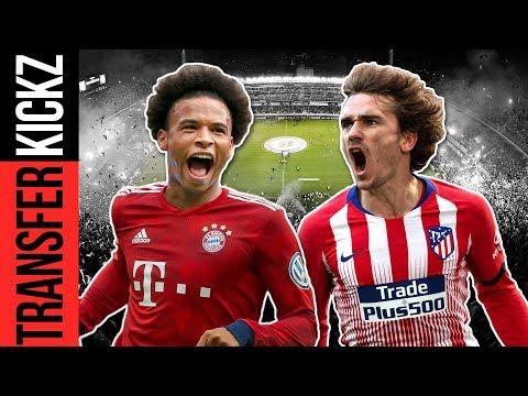 Sané zu Bayern? Griezmann: Barça, PSG oder Bayern? | TransferKickz