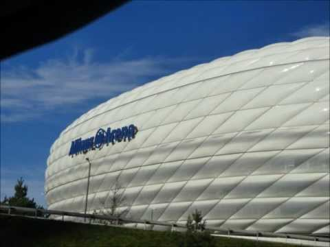 Allianz Arena Stadion und Heimat des FC Bayern München
