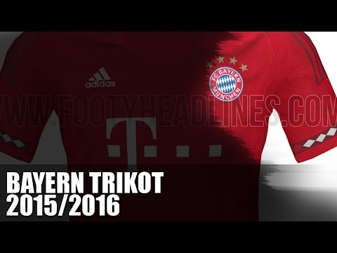 FC Bayern Trikot 2015/2016 – Heimtrikot Leak