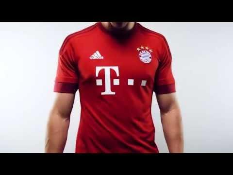 Adidas Bayern Munich 2015 Home Jersey
