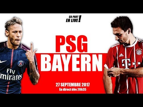 DIRECT : PSG – BAYERN MUNICH (LIVE / 27-09 / 20h35 / LDC)