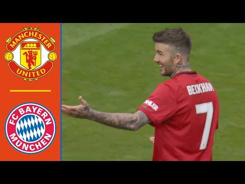 Man United legends vs Bayern Munich legends 5-0 Extended Highlights & All Goals – 2019