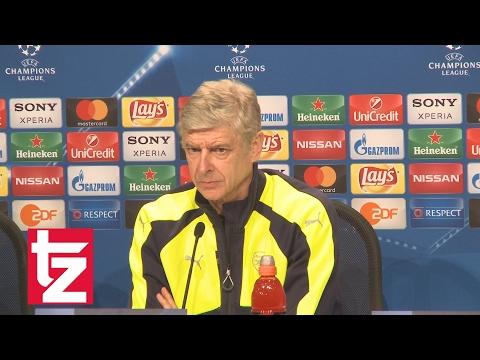Arsenal-Trainer Arsène Wenger vor dem Spiel gegen den FC Bayern