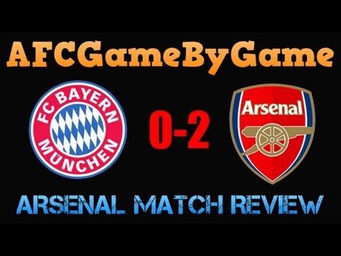 Bayern Munich v Arsenal 0-2 Match Review