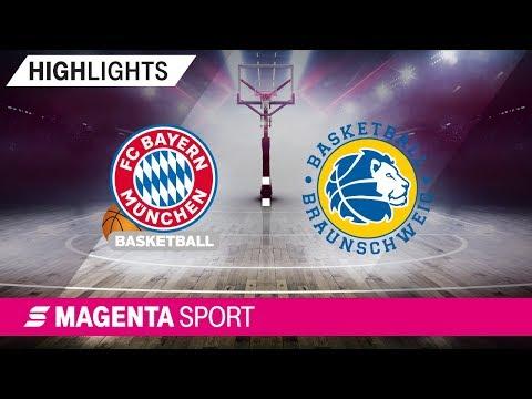 FC Bayern Basketball – Basketball Löwen Braunschweig | Viertelfinale, Spiel 3 | MAGENTA SPORT