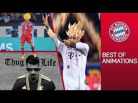 FC Bayern Goals Animated: Super Saiyan Tolisso & Rocket Man Coman