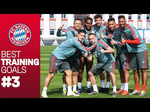 FC Bayern BEST Training Goals! #3