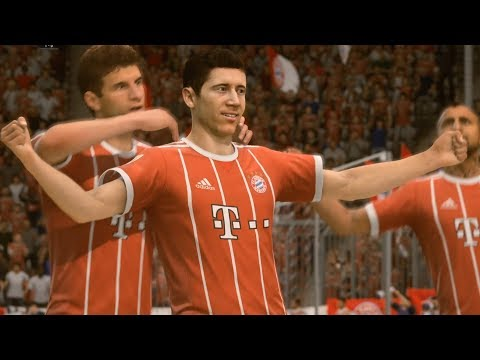 FIFA 18 – FC Bayern Munich vs Sevilla – UEFA Champions League Gameplay (HD) [1080p60FPS]