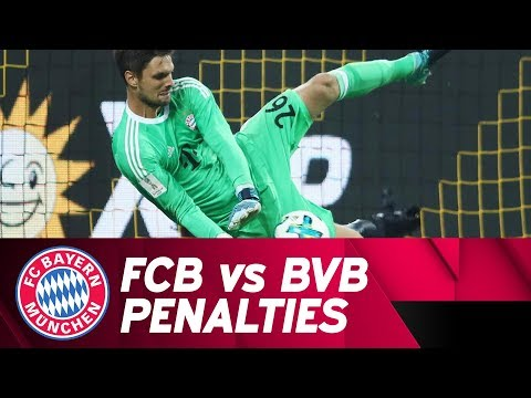 FC Bayern vs. Borussia Dortmund Penalty Shootout | #SvenTheWall is born!