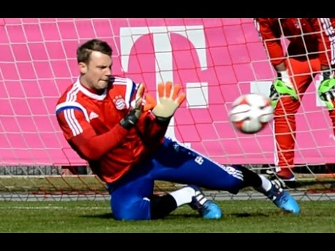 Manuel Neuer – Goalkeeper Training – Torwart Training | FC Bayern Munich