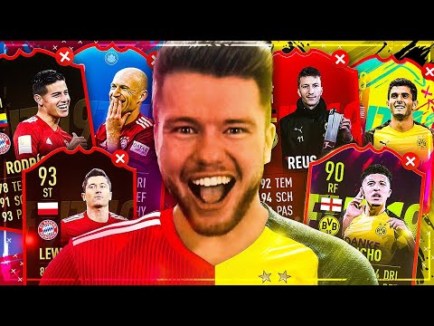FIFA 19: FC BAYERN vs BVB DISCARD CHALLENGE 😦😦