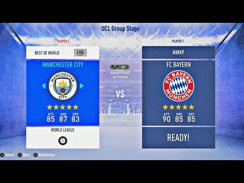 FIFA 19 | Manchester City vs Bayern Munich | Full Gameplay HD | Gamescom 2018 – PS4 Pro
