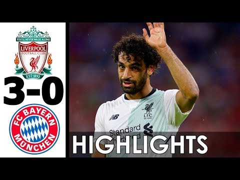 Liverpool vs Bayern Munich 3-0 All Goals and Highlights w/ English Commentary (Friendly) 2017-18 HD