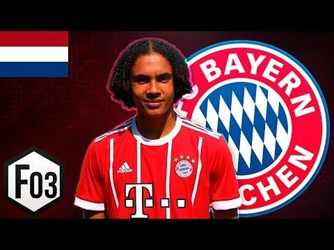 Joshua Zirkzee | FC Bayern | The New Hasselbaink | Goals & Skills