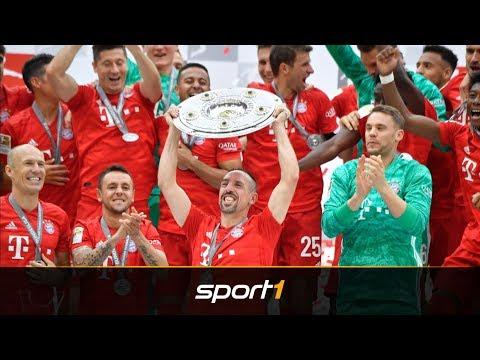 Ribery, Robben, Sanches: FC Bayern erlebt Meister-Märchen! | SPORT1 – BUNDESLIGA AKTUELL
