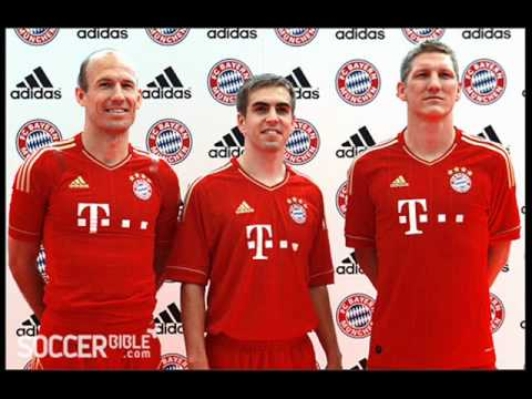 Bayern Munich home kit 2011