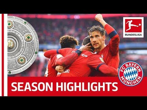 FC Bayern München Are Bundesliga Champions 2018/19 – Congratulations!