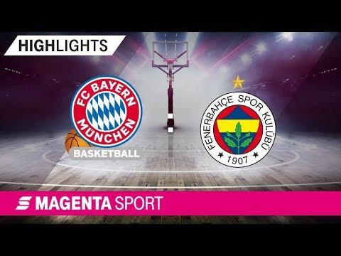 FC Bayern Basketball – Fenerbahce Istanbul | 21. Spieltag, 18/19 | MAGENTA SPORT
